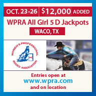 WPRA All Girl 5D Barrel Race Oct 23-25, 2014 Waco, Tx